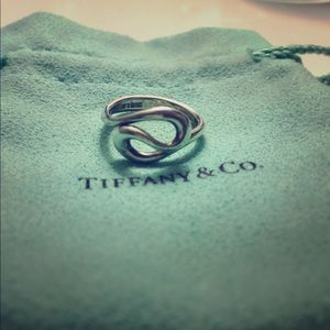 Authentic Tiffany and Co ring